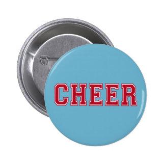 Cheer 6 Cm Round Badge