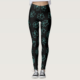 Cheer Bow Leggings by Cheer Boutique