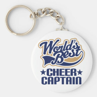 Cheer Captain Gift Key Ring