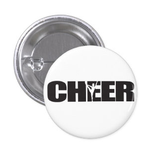 Cheer Cheer leader Cheerleading 3 Cm Round Badge