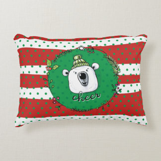 Cheer Christmas Decorative Cushion