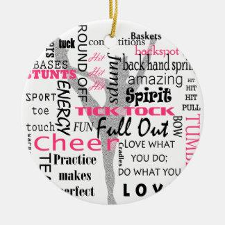Cheer Christmas Ornament