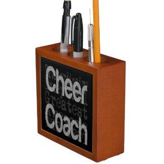 Cheer Coach Extraordinaire Pencil/Pen Holder