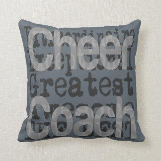Cheer Coach Extraordinaire Throw Pillow
