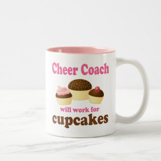 Cheer Coach (Funny) Gift Coffee Mugs