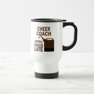 Cheer Coach (Funny) Gift Stainless Steel Travel Mug