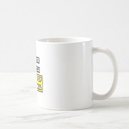Cheer Coach .. I'm Kind of a Big Deal Coffee Mug