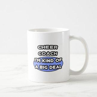 Cheer Coach ... Kind of a Big Deal Basic White Mug
