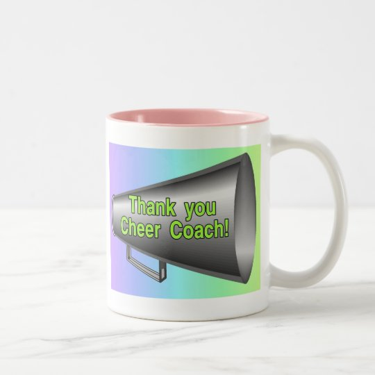 cheer coach mug