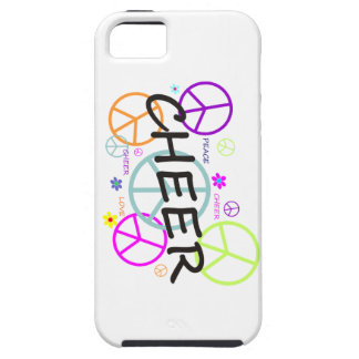 Cheer Colored Peace Signs iPhone 5 Cover