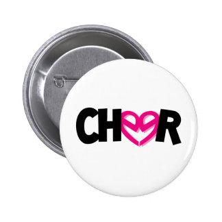 Cheer CuteE's 6 Cm Round Badge