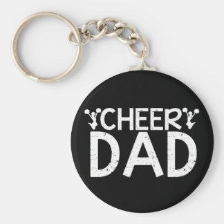 Cheer Dad Key Ring