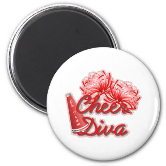 cheer diva gear magnet