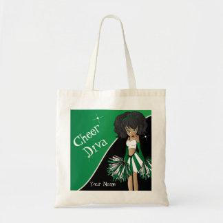 Cheer Diva Green Cheerleader Bag