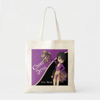 Cheer Diva Purple Cheerleader Bags