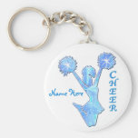 Cheer Gifts Under $5 from Coaches Basic Round Button Key Ring