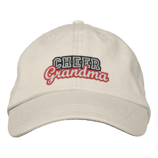 Cheer grandma embroidered hat
