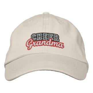 Cheer grandma embroidered hat
