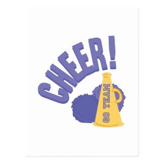 Cheer Horn Postcard
