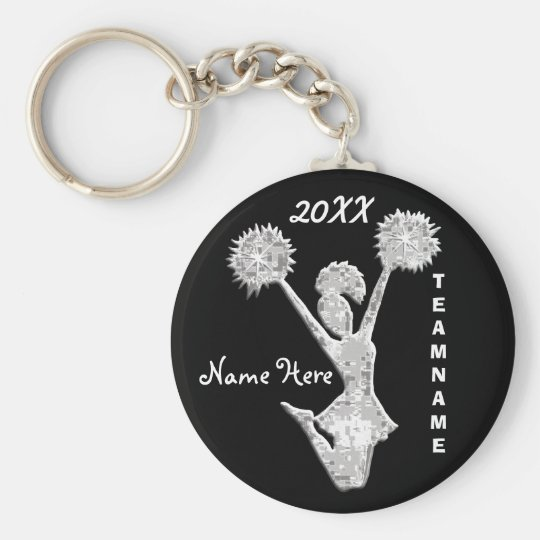 Cheer Keychains PERSONALIZED Your Text and Colours