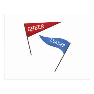 Cheer Leader Postcard
