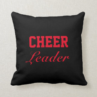 Cheer Leader Throw Pillow