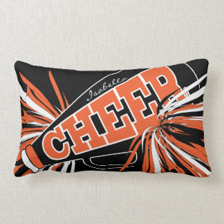 Cheer Megaphone - Cheerleader Lumbar Cushion