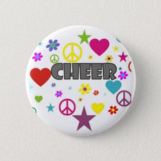 Cheer Mixed Graphics 6 Cm Round Badge
