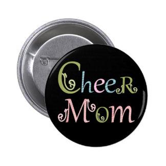 "Cheer mom button pin ""cheerleader gifts"""
