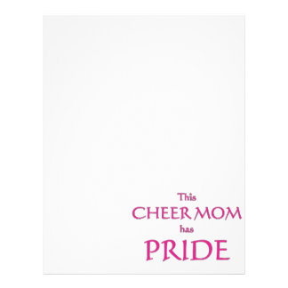 Cheer mom has pride! Proud cheer mom 21.5 Cm X 28 Cm Flyer