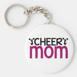 Cheer Mom Key Ring