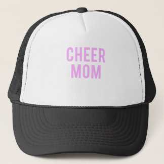 Cheer Mom Print Trucker Hat