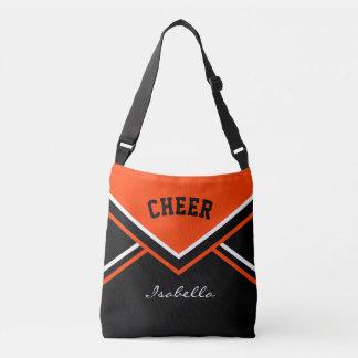 Cheer Orange Cheerleader Outfit Tote Bag