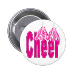 Cheer Pink Buttons