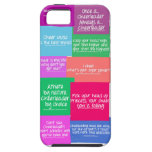 Cheer quote case iPhone 5 case