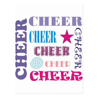 Cheer Repeating Post Cards