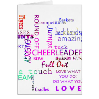 Cheer Spirit Card