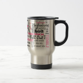Cheer Stainless Steel Travel Mug