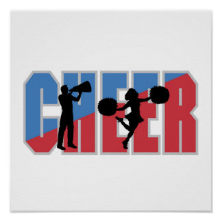 CHEER T-shirts and Gifts Poster