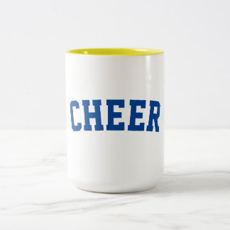 Cheer Two-Tone Coffee Mug