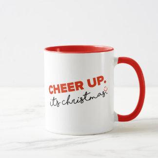 Cheer UP. Christmas Mug