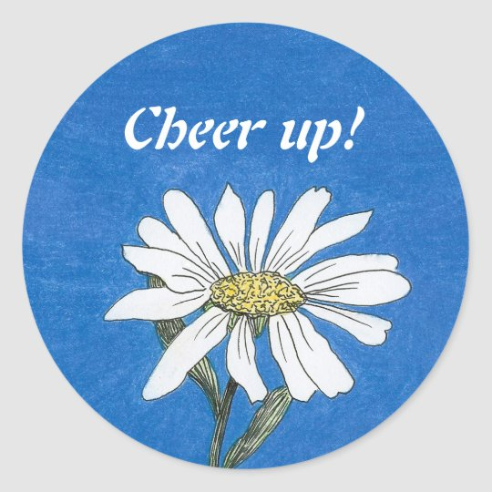 Cheer up! Daisy Sticker