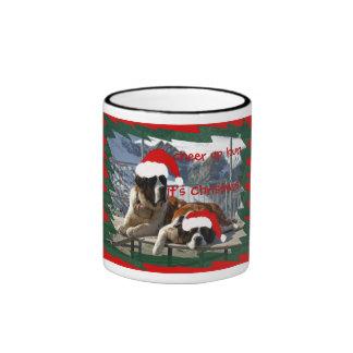 cheer up hun, it's Christmas! Ringer Coffee Mug