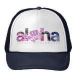 "Cheer With Aloha {CWA} - ""Tropix"" Trucker Cap"