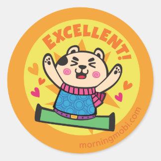 Excellent Stickers   Zazzle.co.uk