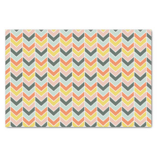 Cheerful Chevron by Origami Prints Tissue Paper