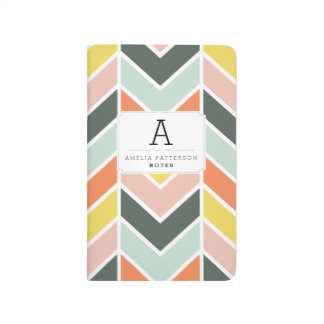 Cheerful Chevron Journals