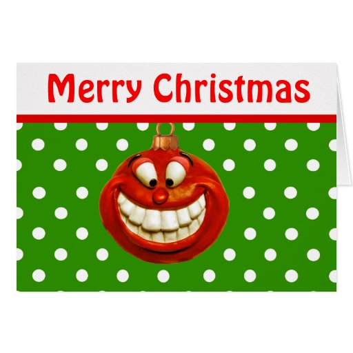 Cheerful Christmas Ornament Cards