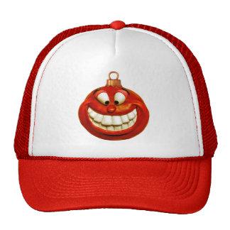 Cheerful Christmas Ornament Mesh Hat