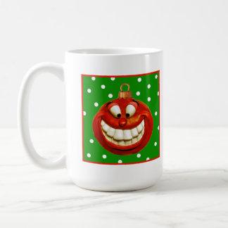 Cheerful Christmas Ornament Coffee Mug